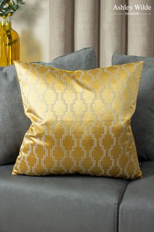 Nash Jacquard Cushion by Ashley Wilde