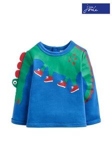 Joules Boo Appliqué Sweatshirt