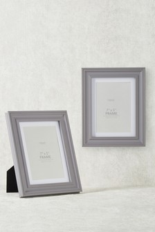 "Set of 2 Hampton 7 x 5"" (18 x 13cm) Frames"