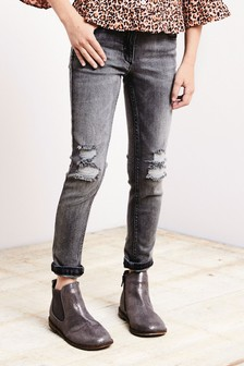Ripped Knee Skinny Jeans (3-16yrs)