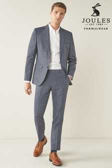 Slim Fit Joules Wool/Linen Suit: Jacket
