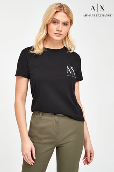 Armani Exchange Small Icon Logo T-Shirt