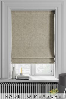 Metallic Geo LT Made To Measure Roman Blind