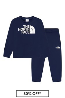 The North Face Boys Navy Tracksuit
