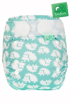 TotsBots EasyFit Star All-in-One Reusable Nappy Hedgehug