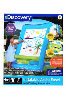 Discovery Inflatable Easel With Paint