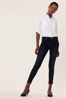 Oasis Black Lily Skinny Jeans