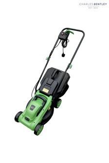 Charles Bentley Green 1200W Electric Rotary Lawnmower