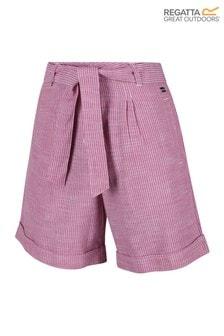 Regatta Purple Samora Shorts