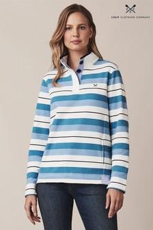 Crew Clothing Blue Padstow Sweatshirt