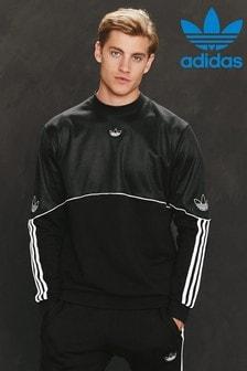 סוודר של adidas Originals עם צווארון מעוגל