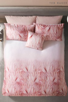 Ted Baker Angel Falls Feather Print Cotton Duvet Cover