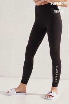 Superdry Active Lifestyle Full Length Leggings