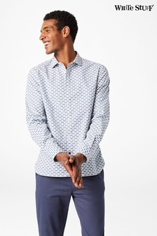 White Stuff White Scommondon Print Shirt