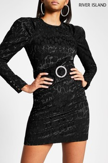 River Island Black Going Out Pack Stanley Dress