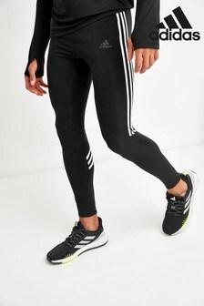 adidas Own The Run 3 Stripe Leggings