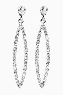 Sparkle Marquise Earrings