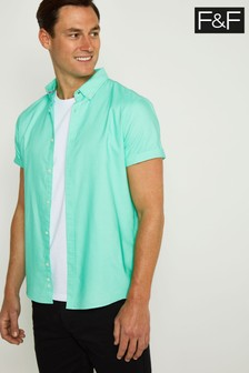 F&F Mint Oxford Shirt