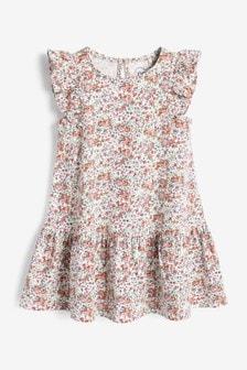 Cotton Tier Jersey Dress (3mths-7yrs)
