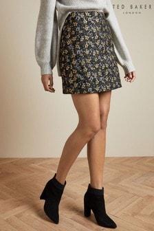 Ted Baker Rainie Jacquard Mini Skirt