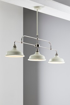 Oxford 3 Light Linear Pendant