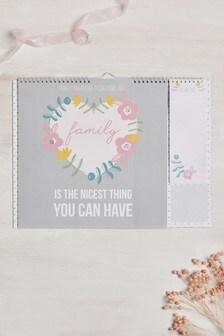 Family Sentiments Calendar