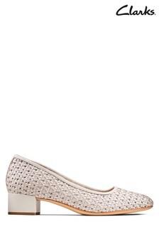 Clarks Grey Orabella Alice Shoes