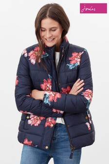 Joules Blue Highgrove Reversible Quilted Jacket