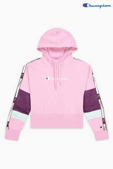 Champion Pink Hooded Sweatshirt