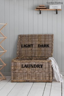 Darks And Light Laundry Chest by Garden Trading