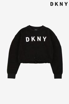 DKNY Black Logo Sweater