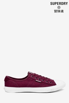 Superdry Burgundy Low Pro Shoes