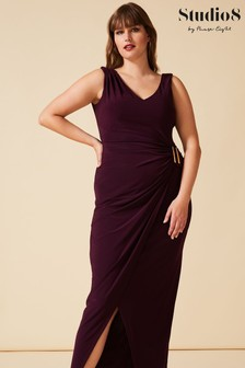 Studio 8 Purple Calypso Maxi Dress