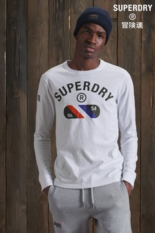Superdry Vintage Sport Long Sleeve Top
