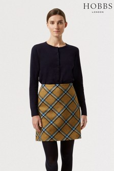 Hobbs Yellow Elea Skirt