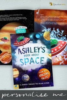 Personalised My Book About Space by Signature Book Publishing