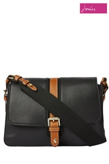 Joules Wimbourne Carriage Leather Cross Body Bag