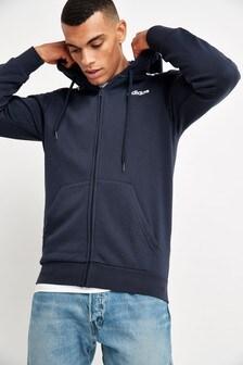 adidas Ink Essentials 3 Stripe Zip Through Hoody