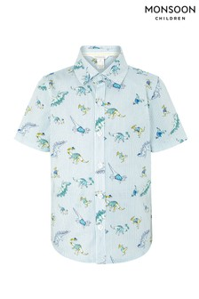 Monsoon Ivory Donovan Dino Shirt