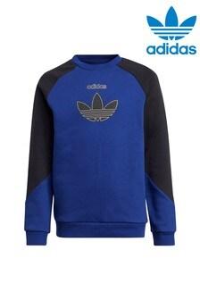 adidas Originals Navy SPRT Crew Sweater