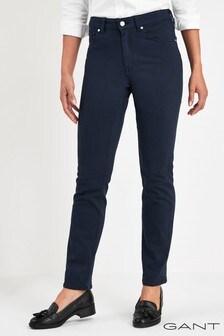GANT Navy Slim Twill Jean