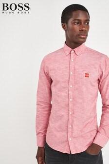 BOSS Red Mabsoot Oxford Logo Shirt