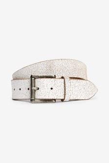 Cracked Leather Belt
