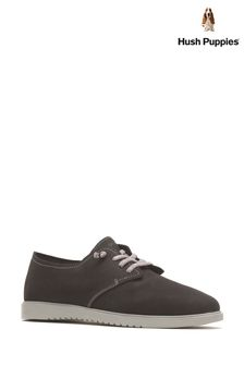 Hush Puppies Black Everyday Lace Shoes