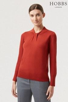 סוודר של Hobbs, בצבע כתום, מדגם Kelsey