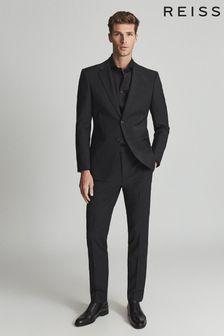 Reiss Storm Two Fold Cutaway Collar Slim Fit Shirt