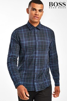 BOSS Black Mypop Check Shirt