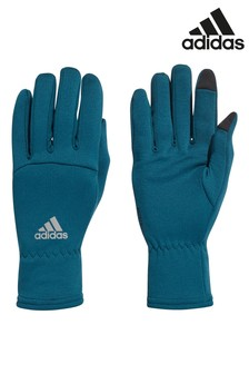 adidas Green Climawarm Gloves