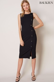 Baukjen Black Margaret Dress