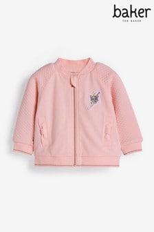 Baker by Ted Baker Pink Bomber Jacket